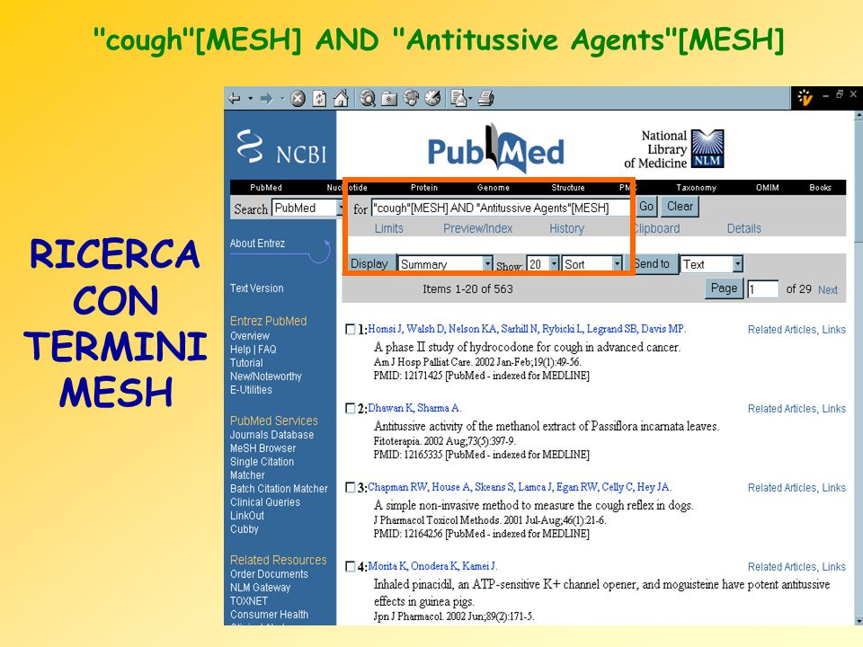 cough [MESH] AND Antitussive Agents [MESH]